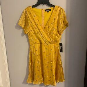 Mustard Yellow Lulus dress - never worn!